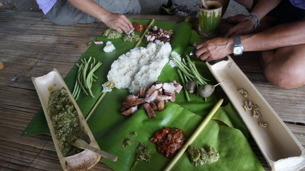 Lanna trek bambou lunch