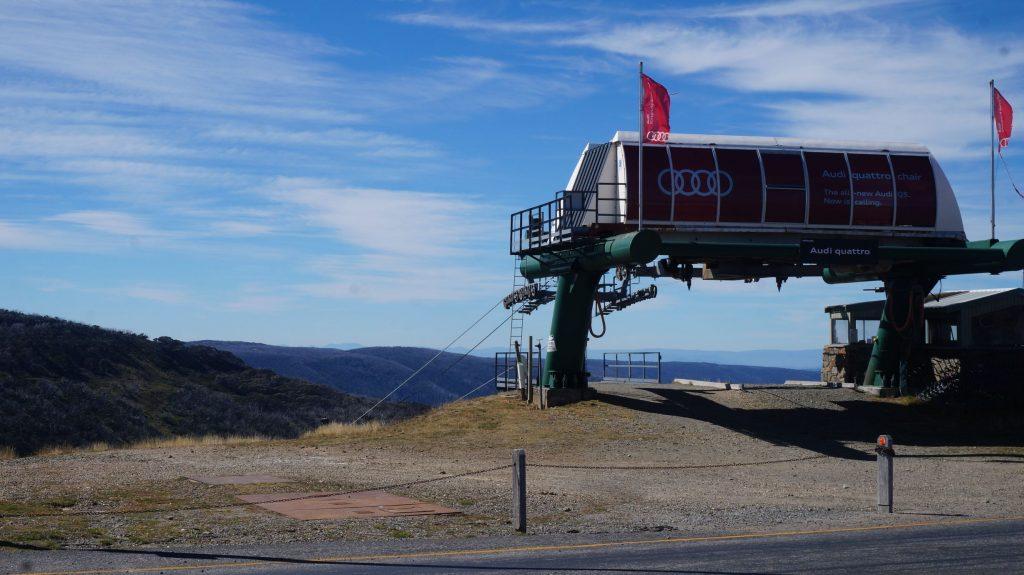 Station de ski dans le Victoria en Australie