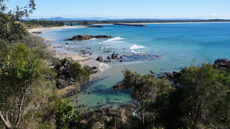 De Nelson Bay à Urunga en passant par Port Macquarie! Allez les bleus