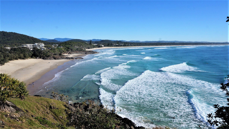 Nimbin, Byron Bay et Gold Coast ! Fin du New South Wales et début du Queensland!