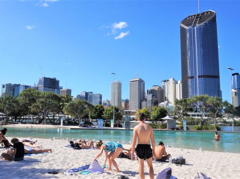 brisbane south banks piscine